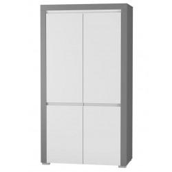 ALABAMA ABS-1 akasztós+polcos szekrény, 106*54,9*194,8 cm