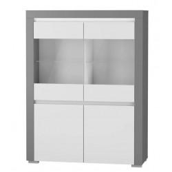ALABAMA ABW-1 alacsony vitrin, 106*38,9*139,3 cm