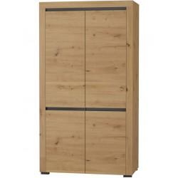 ARIZONA RRS-1 akasztós+polcos szekrény, 106*54,9*194,8 cm