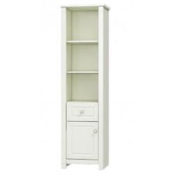 LUNA LS-3 nyitott polcos szekrény, 55*46,2*202,8 cm