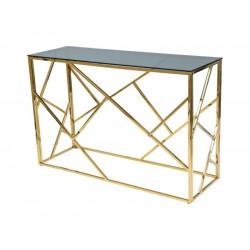 ESCADA C konzolasztal, 120*40*78 cm - arany
