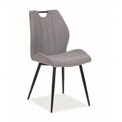 ARCO fémvázas szék, 51*46*91 cm - Tap. 144 szürke  ÚJDONSÁG!