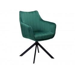 AZALIA Velvet fémvázas szék, 61*44*86 cm - Bluvel 78 zöld  ÚJDONSÁG!