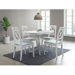 DELLO étkezőasztal, 100/129*70*75 cm