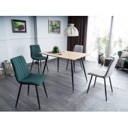 ALAN fémvázas szék, 45*40*88 cm - Tap.122 zöld
