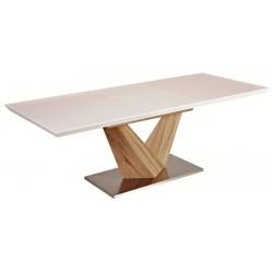 ALARAS étkezőasztal, 140/200*85*75 cm - sonoma