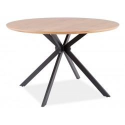 ASTER étkezőasztal, 120*120*76 cm