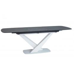 CASSINO II Ceramic étkezőasztal, 160/220*90*76 cm