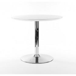 FLAVIO étkezőasztal, 90*90*75 cm - fehér