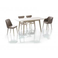 COMBO II étkezőasztal, 120/160*80*75 cm