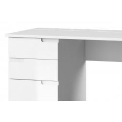 SELENE 15 íróasztal, 158*67*76 cm - fehér