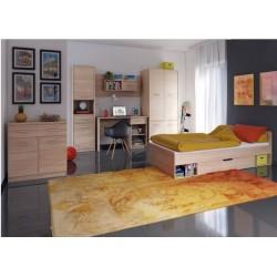TEYO B1S íróasztal, 120*54*77 cm - sonoma