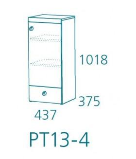 Planet PT13-4 komód, 43,7x37,5x101,8 cm