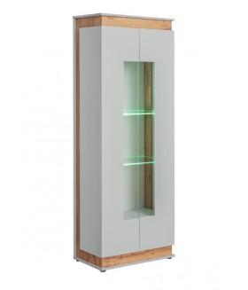 BERLIN WSW vitrin LED világítással, 70*40*191 cm