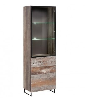 PLANK WSW vitrin, 60*40*194 cm