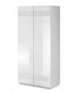 Alabaster AB-01 gardróbszekrény, 90x51x191 cm
