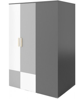 Pok PO-00L sarok szekrény (balos), 130x93x193 cm