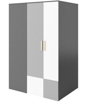 Pok PO-00P sarok szekrény (jobbos), 130x93x193 cm