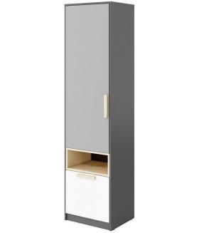 Pok PO-03 polcos szekrény, 50x40x193 cm