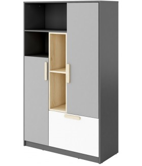 POK PO-05 alacsony szekrény, 100*40*163 cm