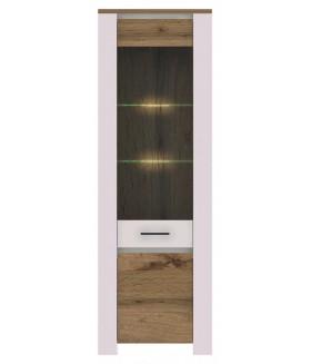 Aruba AR6 vitrin világítással, 65*40*195 cm