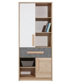 Aygo AG4 polcos szekrény, 83*39,5*192 cm