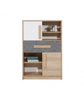 Aygo AG3 alacsony polcos szekrény, 83*39,5*124 cm