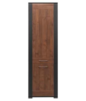 Naomi NA5 2 ajtós polcos szekrény, 60x41,5x194 cm