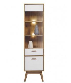 Nordic ND6 vitrin világítással, 49*40*188,5 cm