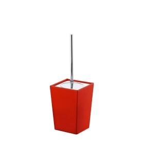 Kyoto Colour 1533 WC kefe tartó - piros