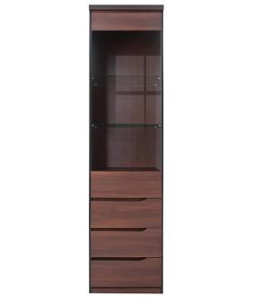 JULY REG1W3SP vitrines szekrény, 52*40*200 cm