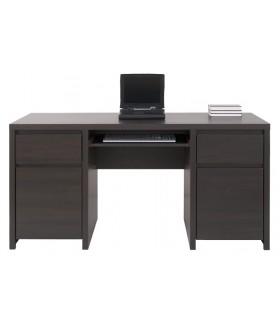 Kaspian BIU2D2S/160 íróasztal, 160x65x77 cm - wenge