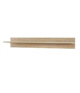 Gordia POL/100 fali polc, 100x22x15 cm - sonoma