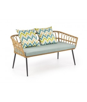Gardena 2S kanapé, 140x38x71 cm