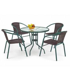 Grand asztal, 80x80x71 cm