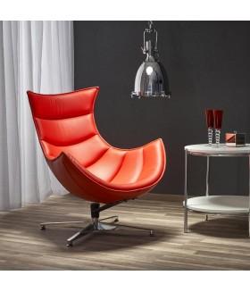 Luxor fotel, 86*84*96 cm - piros