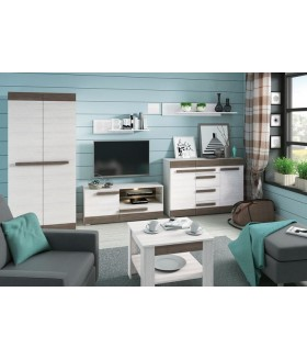 Blanco 10 TV szekrény, 128x42x55 cm