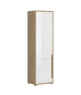 Lucas R2DL polcos szekrény, 55x42x190,5 cm