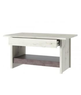 NONELL LAW1S/90 dohányzóasztal, 90*50*50 cm