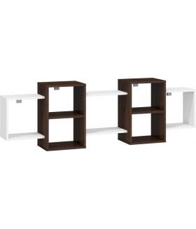 Nordis 2. nappali bútor - sötét sonoma/fehér