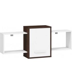 Nordis 1. nappali bútor - sötét sonoma/fehér