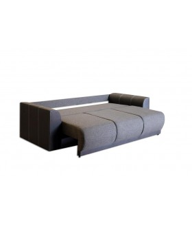 Adrienn 1. kanapé, 230x107x73 cm - cappuccino/világos barna