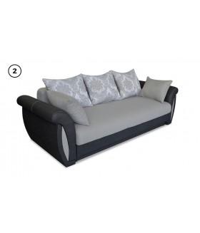 Arlen 2. kanapé, 252*100*85 cm - drapp/fekete