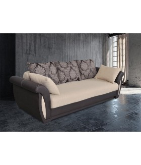 Arlen 4. kanapé, 252*100*85 cm - bézs/barna