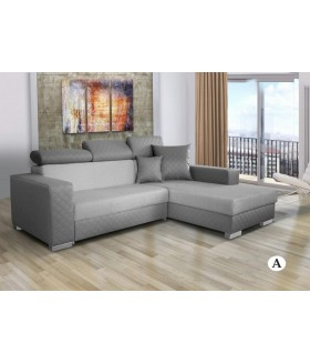 Dakar sarok + fotel, 235x177x78 cm