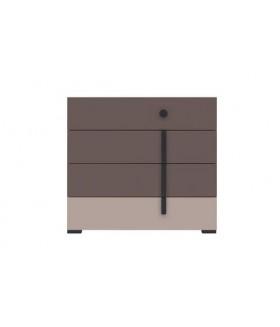 Nikko KOM4S 4 fiókos komód, 90x40x82,5 cm