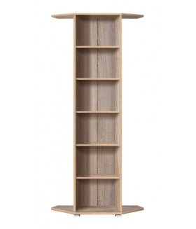 Office Line REGN53/220 polcos sarok szekrény, 101,5x35x221 cm
