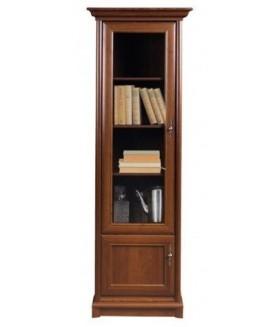 Sonata WIT1DL vitrines szekrény, 70,5x43x204,5 cm - balos