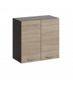 Livia LV-04 fali szekrény, 60x28,5x57,5 cm - világos sonoma