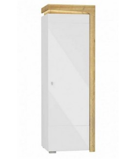 Theo THS-1P 1 ajtós polcos szekrény, 63,9x42,8x197 cm